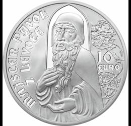 Maestrul Paul din Levoca, sculptor, 10 euro, argint de 900/1000, Slovacia, 2012