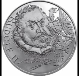 200 kč, Rudolf II, Ag, proof, 2012 Cehia