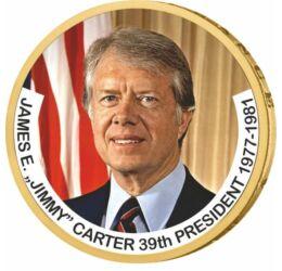 1 dolar, Jimmy Carter, monedă color, 2007-2020, SUA