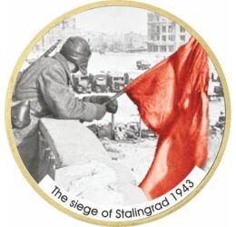 Bătălia de la Stalingrad, 1 dolar, SUA, 2007-2020
