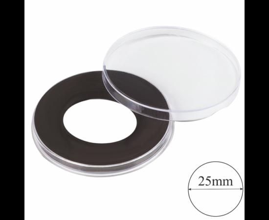 Capsule cu înălţime de 4,5 mm şi inel negru Ø 25