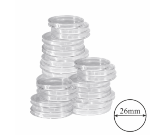 Capsule pentru monede Ø 26
