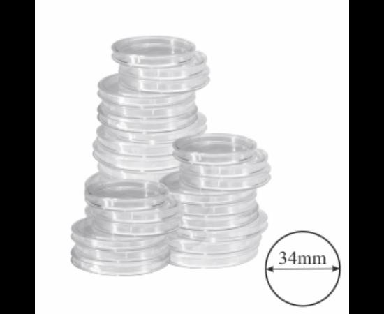 Capsule pentru monede Ø 34