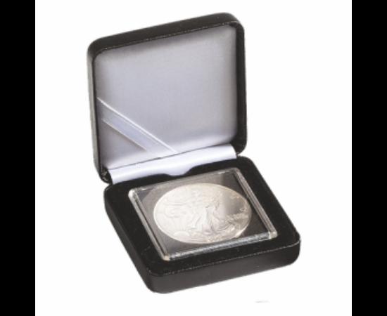 Cutii NOBILE pentru monede în capsule pătrate(1 x Quadrum)
