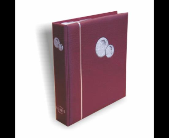 Album NUMIS pentru monede (roşu)