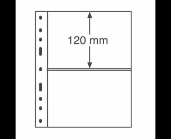 File de album OPTIMA (Bancnote, 2 buzunare)