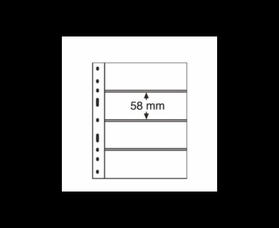 File de album OPTIMA Timbre, 4 straifuri