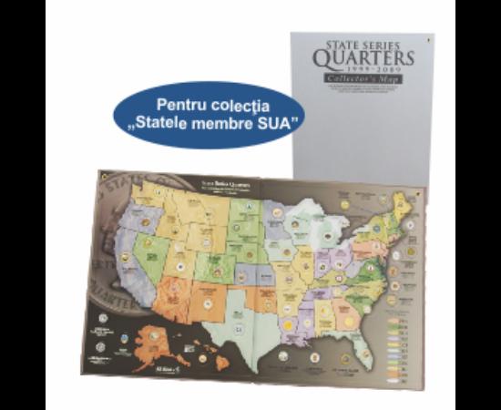 Statele SUA, album mapă SUA