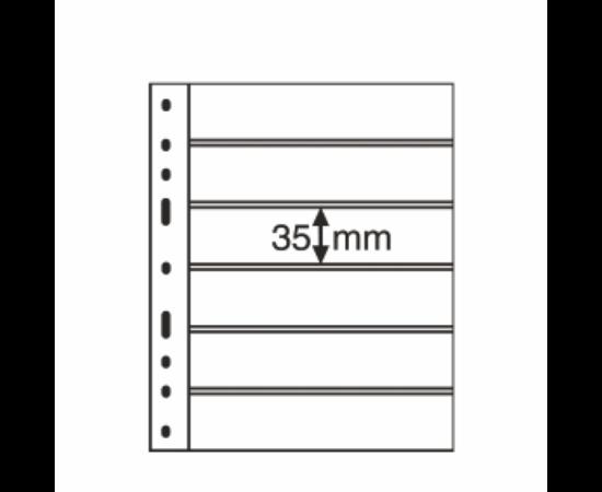 File de album OPTIMA Timbre, 6 straifuri