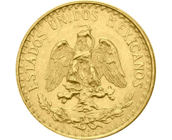 // 2 peso, aur de 900/1000, Mexic, 1919-1948 // - Mexicul de astăzi a fost ocupat timp de mii de ani de către mayaşi şi azteci, moştenirea lor apare în cultura, dar şi în stema ţării. Moneda de aur de 100 de ani ne prezintă legenda al cărei protagonist es