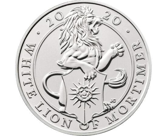 // 5 lire, Marea Britanie, 2020 // - La încoronarea reginei Elisabeta a II-a în anul 1953, au fost expuse statuile celor 10 bestii heraldice regale, simbolizând moştenirea istorică a reginei. În 2017, Monetăria Regală Britanică a lansat seria monetară tem