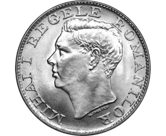 // 500 lei, argint de 700/1000, România, 1944 // - Cea de-a doua domnie a regelui Mihai I a început într-o epocă dramatică: Europa era devastată de război, România a pierdut partea de nord-est a Transilvaniei, şi puterea regelui era controlată de către co