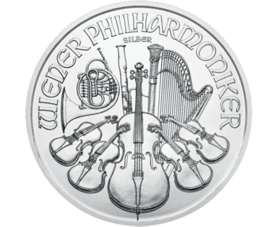 // 1,5 euro, argint de 999/1000, Austria, 2020 // - Printre cele mai cunoscute monede de investiţie din lume este moneda austriacă Filarmonicii din Viena. Mai demult au fost bătute doar monede de aur, dar din anul 2008 monetăria austriacă emite şi monede