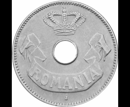 """// 10 bani, România, 1905-1906 // - Prima monedă europeană cu gaură a fost bătută în anul 1901, în Belgia, iar utilizarea acestora au fost răspândite cu repeziciune în toată Europa. Din anul 1905 şi ţara noastră a introdus baterea """"monedelor divizionare c"""