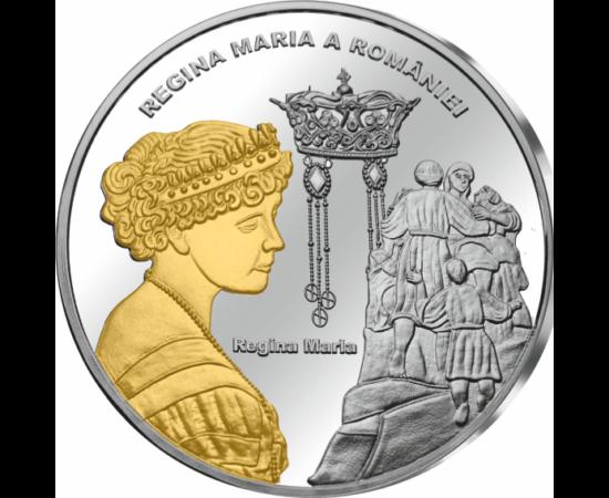 // medalie, România,  // - Regina Maria a fost regina României între 1914-1927. S-a implicat activ în viaţa politică a ţării, a susţinut necesitatea alierii României cu Antanta. A făcut sacrificii pentru România, a iubit poporul român. Prin celebritatea e