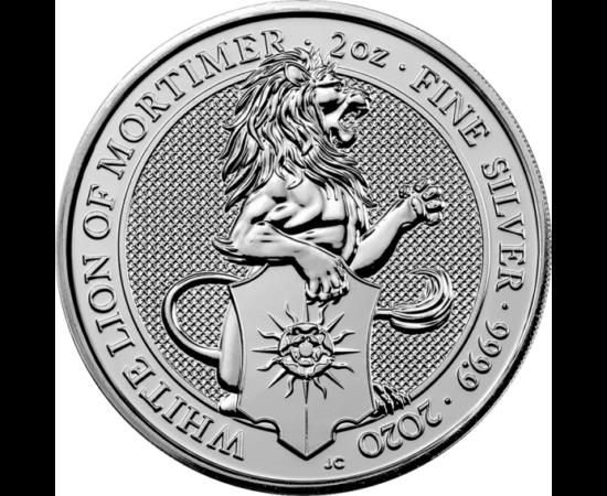 // 5 lire, argint de 999/1000, Marea Britanie, 2020 // - La încoronarea reginei Elisabeta a II-a în anul 1953, au fost expuse statuile celor 10 bestii heraldice regale, simbolizând moştenirea istorică a reginei. În 2017, Monetăria Regală Britanică a lansa