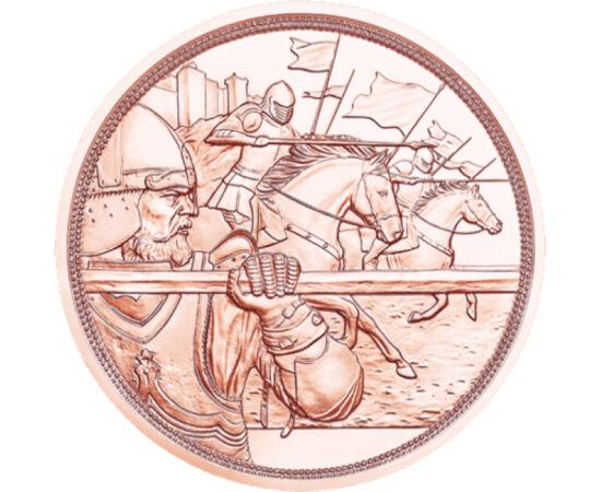 // 10 euro, Austria, 2020 // - Viaţa cavalerilor templieri era o combinaţie între viaţa pură, pioasă a călugărilor şi cea a cavalerilor curajoşi, o viaţă fără compromisuri. Existenţa acestor luptători de elită a fost înconjurată de sute de legende, printr