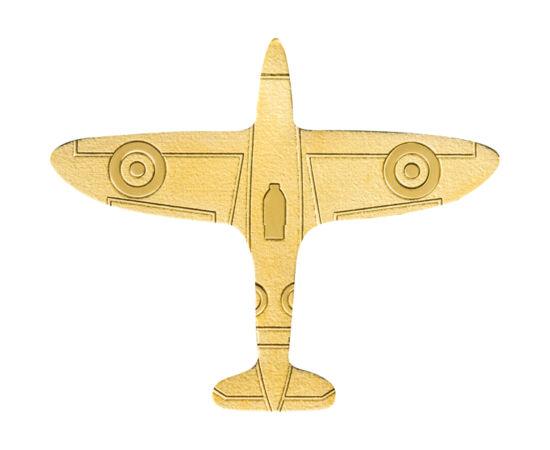 // 1 dolar, aur de 999,9/1000, Palau, 2020 // - O nouă monedă egzotică, care cu siguranţă va fi preferata iubitorilor monedelor cu forme neobişnuite. Moneda din aur pur, bătută cu tehnologia smartmining, ne prezintă un avion într-un mod incredibil de real