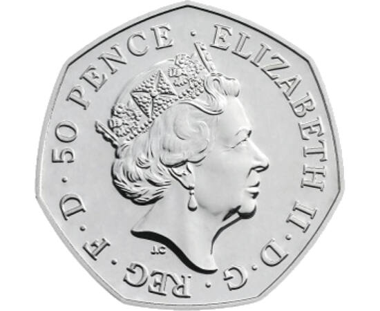 // 50 pence, Marea Britanie, 2018 // - După Primul Război Mondial, în Anglia, bărbaţii peste 21 de ani, respectiv femeile trecute de 30 de ani au primit invitaţia de a participa la viaţa politică, primind dreptul la vot. Anglia a făcut un mare pas spre re