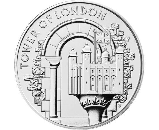 // 5 lire, Marea Britanie, 2020 // - Cea mai nouă monedă britanică ne prezintă Turnul Londrei şi Turnul Alb, cea mai importantă parte a clădirii iconice a Angliei. Castelul a fost construit de William Cuceritorul, iar atracţia turistică de azi a avut mai