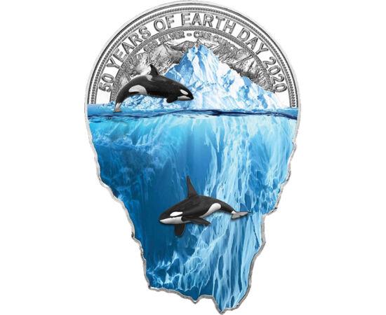 // 2000 franci, argint de 999/1000, Camerun, 2020 // - În anii precedenţi, ocrotirea florei şi a faunei planetei a devenit o temă populară atât pentru monetăriile naţionale, cât şi printre colecţionari. Orice om responsabil încearcă să-şi trăiască viaţa î