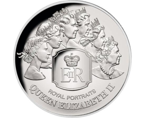 // 5 dolari, argint de 999/1000, Insulele Tokelau, 2020 // - Un domeniu interesant şi captivant al numismaticii este studierea portretelor suveranilor. Această monedă din argint emisă de insulele Tokelau, ne fascinează prin multitudinea portretelor regine