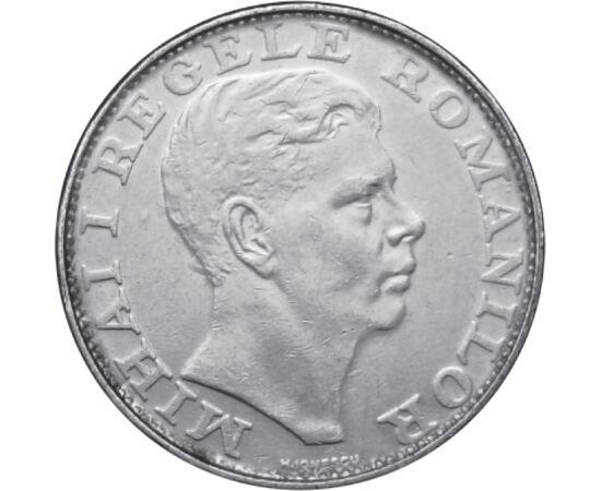 // 200 lei, argint de 835/1000, România, 1942 // - Mihai I a fost ultimul monarh al Regatului României. A fost alungat în decembrie, în anul 1947 de guvernul comunist. Moneda de argint emisă în timpul celui de-Al Doilea Război Mondial, reprezintă efigia r