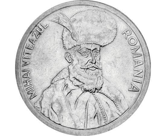 // 100 lei, România, 1991-1996 // - Domnitor al Ţării Româneşti, primul unificator al poporului român, a fost una dintre cele mai marcante personalităţi istorice româneşti. A devenit un simbol al luptei pentru independenţă şi unitate.
