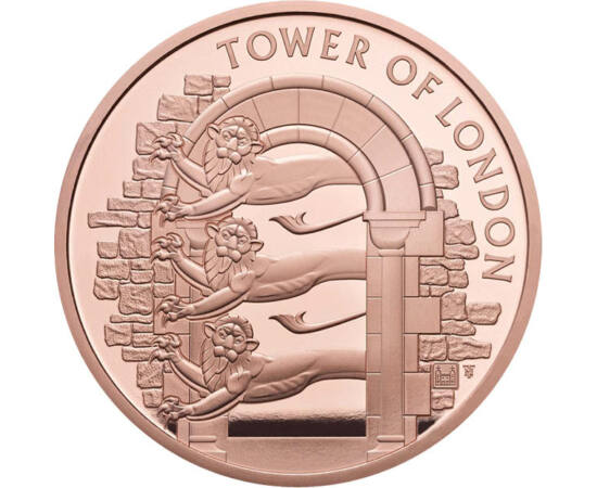 // 5 lire, Marea Britanie, 2020 // - O nouă monedă din seria care ne prezintă Turnul Londrei ne aminteşte de grădina zoologică înfiinţată în secolul al XIII-lea. A fost deschisă publicului între anii 1804-1835, apoi a fost mutată din motive economice şi p