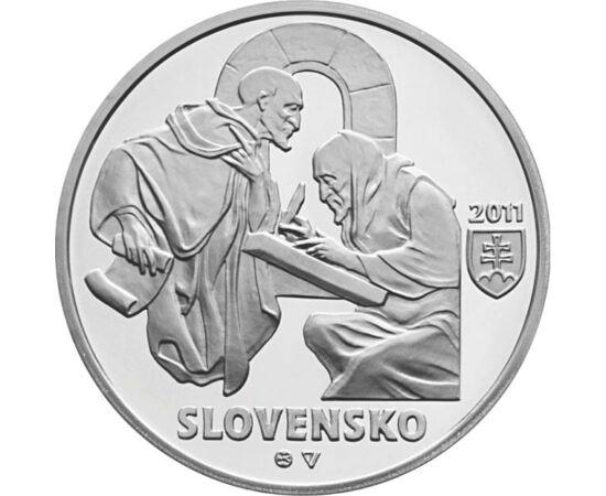 10 euro, Zobor, Ag, bu, 2011 Slovacia