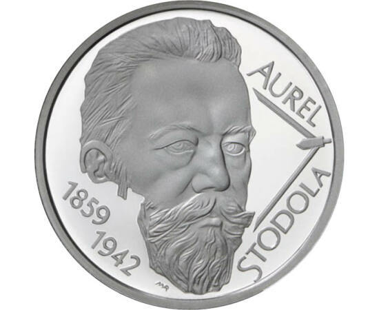 10 euro, Stodola Aurel,Ag,proof,2009 Slovacia
