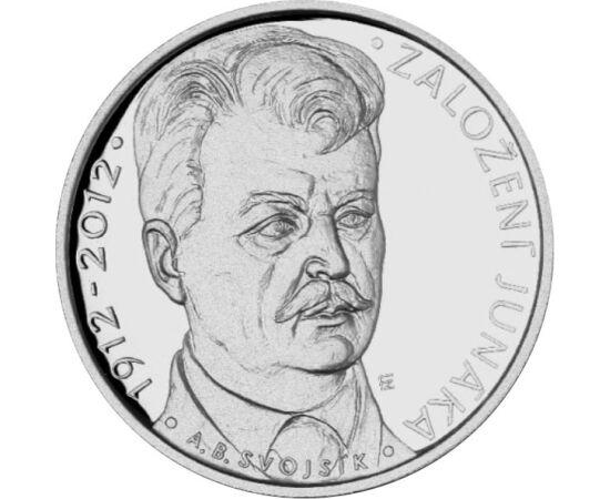 200 kč, Junáka, Ag, proof, 2012 Cehia
