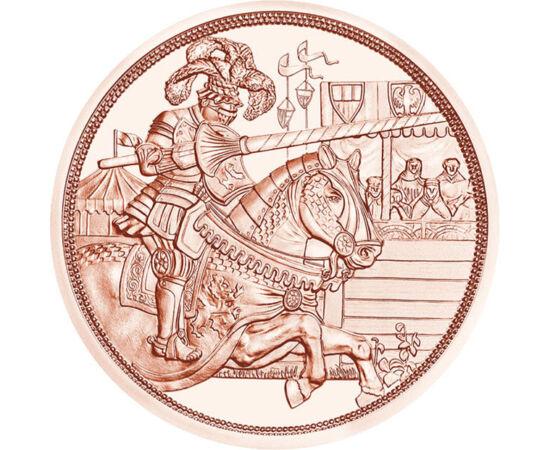 """// 10 euro, Austria, 2019 // - Monetăria Austriei îşi sărbătoreşte cei 825 de ani cu seria de 5 monede """"Poveşti cavalereşti"""". Prima piesă îl prezintă pe Maximilian I al Sfântului Imperiu Roman, împărat al renaşterii. Pe avers apare portretul împăratului ş"""