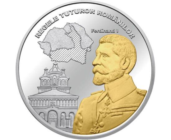 // medalie, România,  // - Pe 15 octombrie 1922, la Alba Iulia, Ferdinand I a fost încoronat ca Regele României Mari. În timpul domniei sale a fost adoptată Constituţia modernă, care a oferit cadrul dezvoltării României Mari.