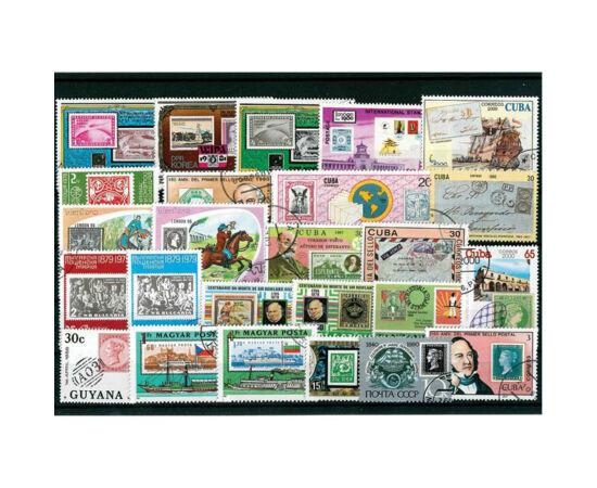 Emisiuni filatelice pe timbre piese de colecţie