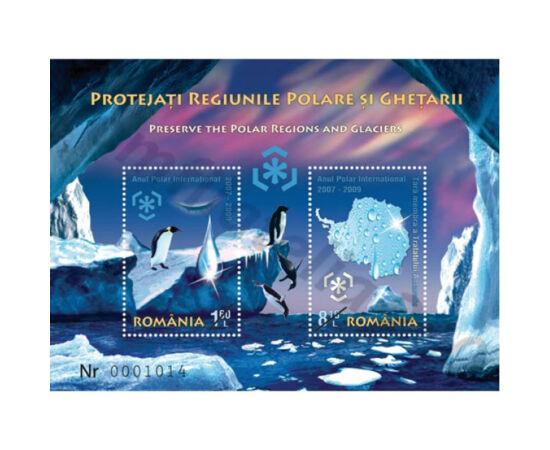 // 9,70 lei, România, 2009 // - Încălzirea globală se manifestă în regiunea arctică mai repede decât în celelalte locuri de pe planetă. Oare gheţarii vor dispare până în anul 2040?