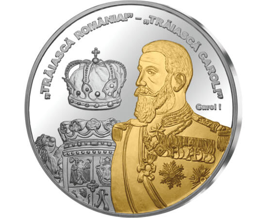 Regele Carol I, medalie, România