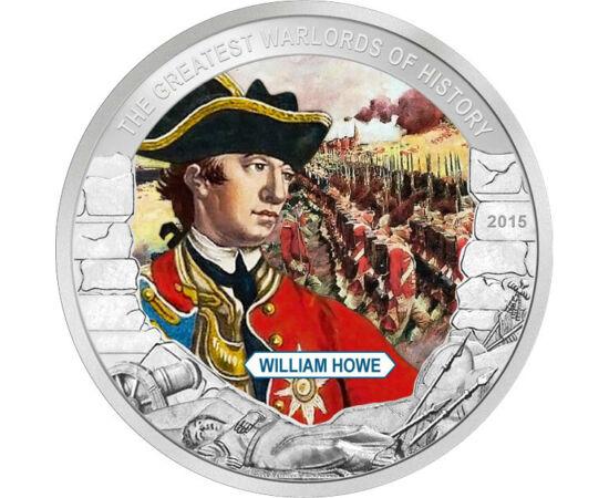 1 dolar, William Howe, Palau, 2015 Palau