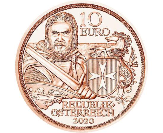 10 euro, Cavaler Ord. Malta, 2020 Austria