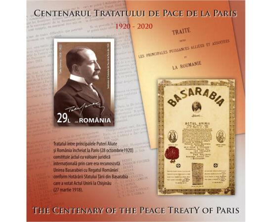 Tratatele de pace de la Paris II România