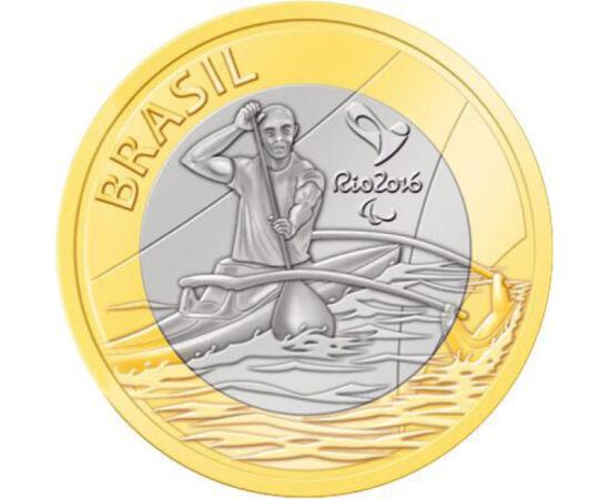 1 real, Caiac-canoe, 2015 Brazilia