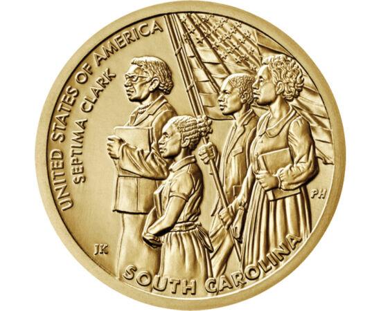 1 dolar, Septima Clark, 2020 SUA