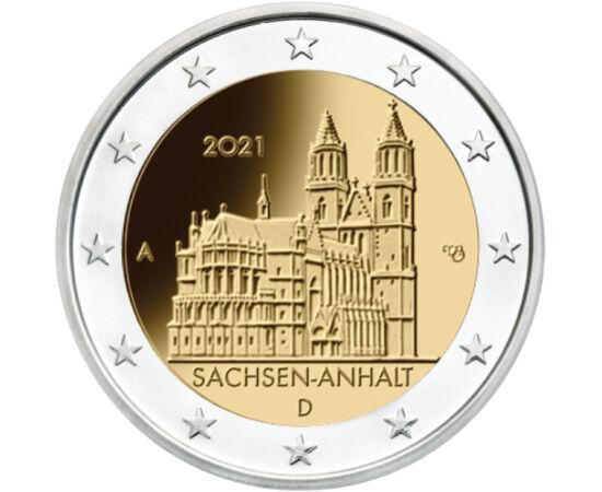 2 euro, Catedrala Magdeburg, 2021 Germania