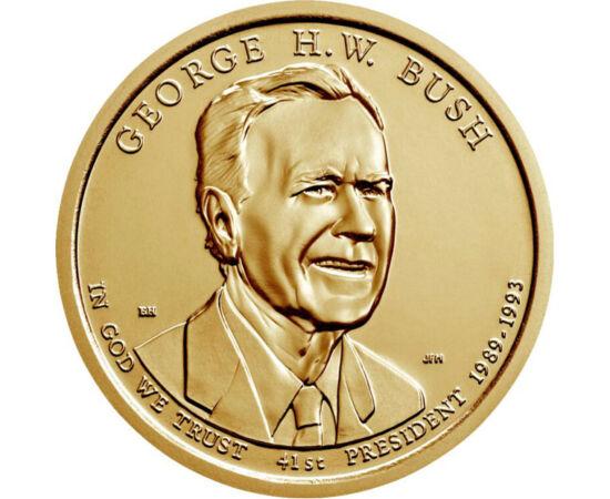 1 dolar, George H. W. Bush, 2020 SUA