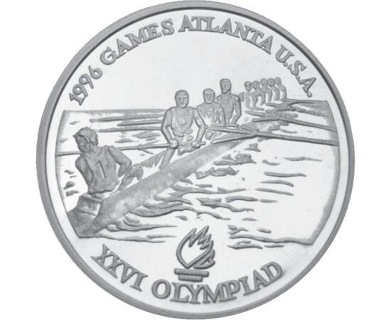 100 lei, Olimpiadă Canotaj, Ag, 1996 România
