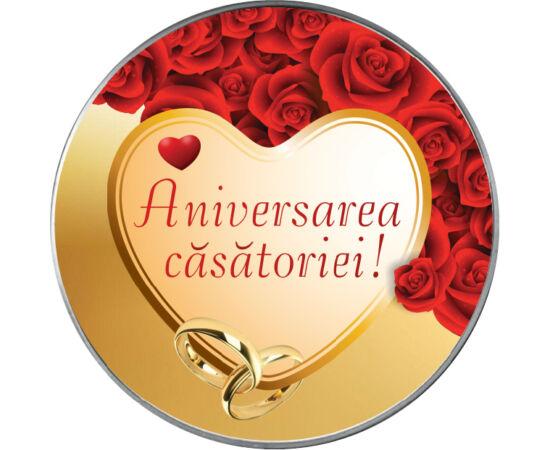 Aniversarea căsătoriei,med.color,România piese de colecţie
