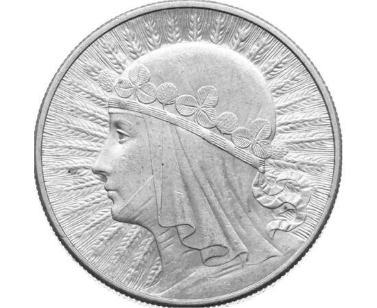 """10 zloţi, """"Hram"""", argint, Polonia Polonia"""