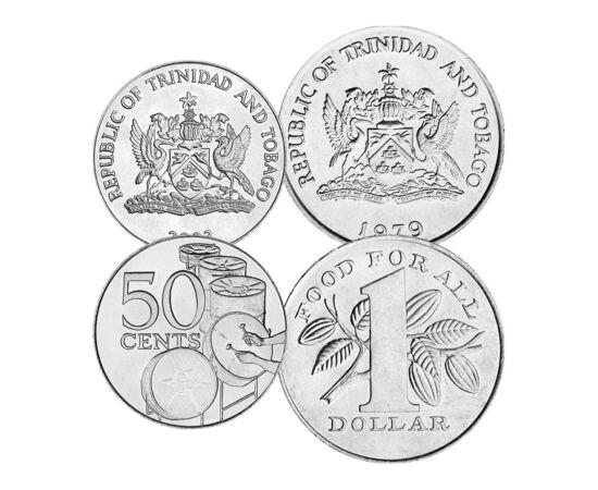 1,5,10,25,50cenţi,1dolar,1978-16 piese de colecţie