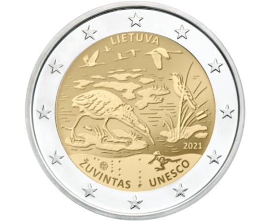 2 euro, Biosfera Zuvintas, 2021 Lituania