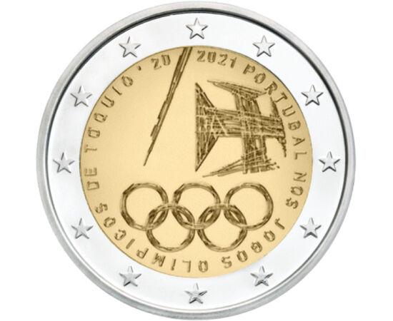 2 euro, Olimpiada de Vară, 2021 Portugalia